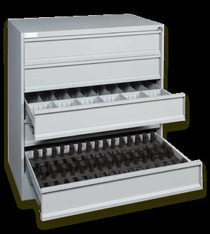 Five-Drawer Pistol Storage Cabinet