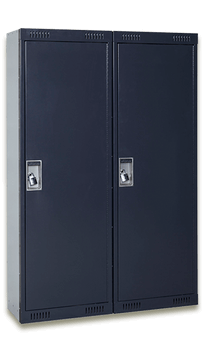 Two Closed Small Arms Lockers