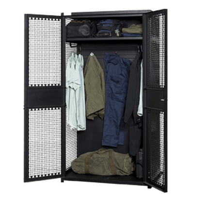 Open TA-50 Gear Locker with Gear