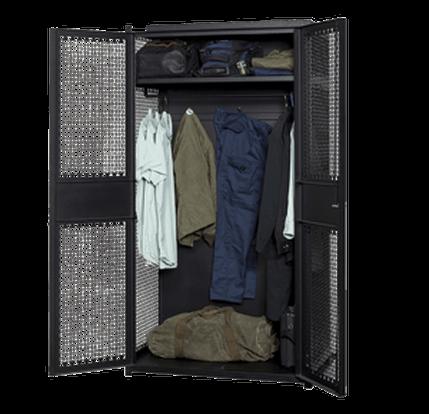 Open TA-50 Gear Locker with Gear